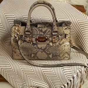 Michael Kors Sachel bag lizard pattern